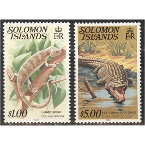 Solomon Islands - kahepaiksed 1982, **