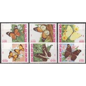 Cabo Verde - liblikad 1982, **