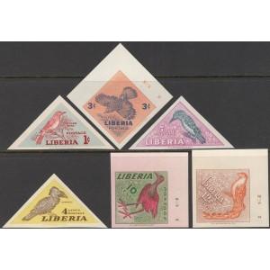 Libeeria - linnud 1953, lõigatud **