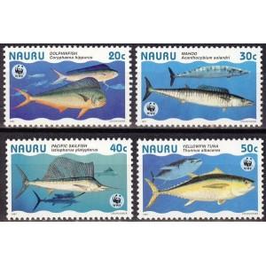 Nauru - kalad WWF 1997, **