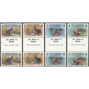 South Georgia - linnud WWF 1992, **