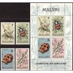 Malawi - putukad (I) 1970, **