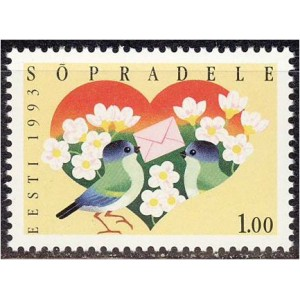 Eesti - 1993 Sõpradele, **