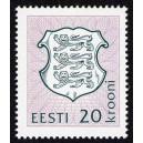 Eesti - 1993 Eesti vapp, 20 krooni, **