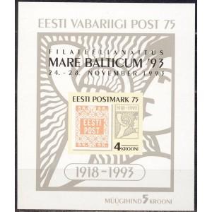 Eesti - 1993 Filateelianäitus Mare Baltikum, **