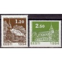 Eesti - 1994 Jõulud - kirikud, **