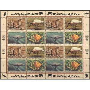 ÜRO (Genf) - loomad, linnud 1994, poogen **