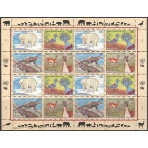 ÜRO (Genf) - loomad, linnud, roomajad 1997, **
