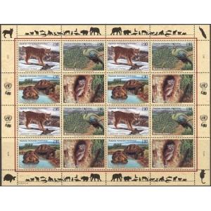 ÜRO (Genf) - loomad, linnud, kilpkonnad 2001, **