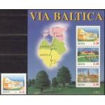 Eesti - 1995 Via Baltica, **