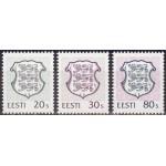 Eesti - 1995 Eesti vapp 20s, 30s ja 80s, **