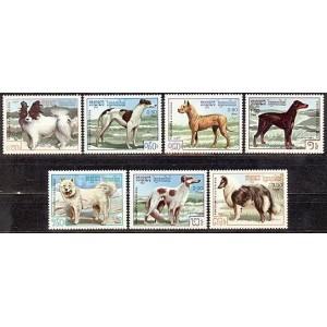 Kampuchea - koerad 1987, **