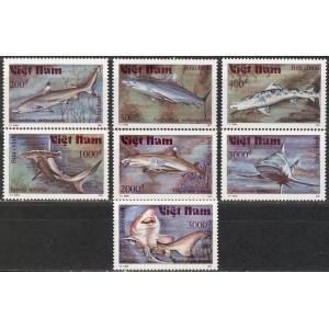 Vietnam - kalad, haid 1991, **