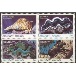 Marshall Islands - merefauna WWF 1986, **