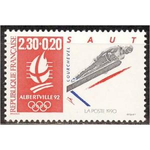 Prantsusmaa - Albertville 1992 olümpia (II), **