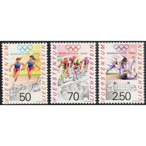 Liechtenstein - Barcelona 1992 olümpia, **