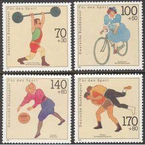Saksamaa - sport 1991, **