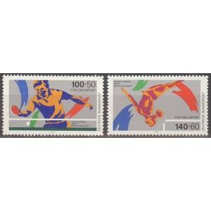 Saksamaa - sport 1989, **