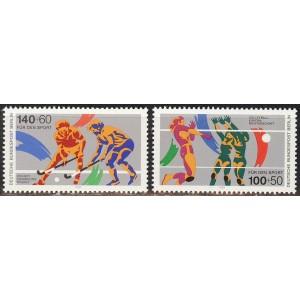 Saksamaa Berliin - sport 1989, **