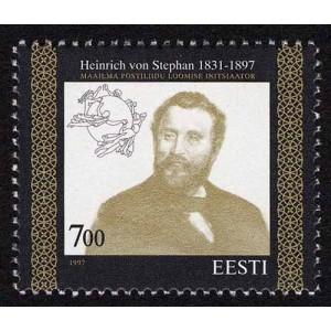 Eesti - 1997 Heinrich von Stephan, **