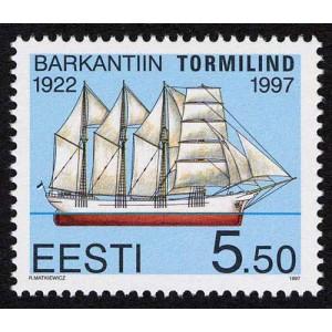 Eesti - 1997 Purjelaev Tormilind, **