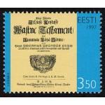 Eesti - 1997 Wastne Testament, **