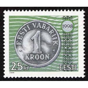 Eesti - 1998 Eesti kroon, 25 krooni, **