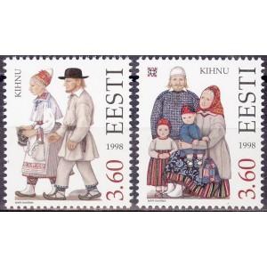 Eesti - 1998 Kihnu rahvariided, **