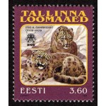 Eesti - 1999 Tallinna Loomaaed - irbis, **