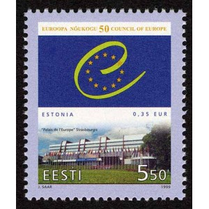 Eesti - 1999 Euroopa Nõukogu 50, **