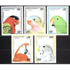 Kampuchea - linnud 1995, **