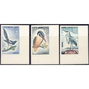 Kampuchea - linnud 1964, lõigatud **