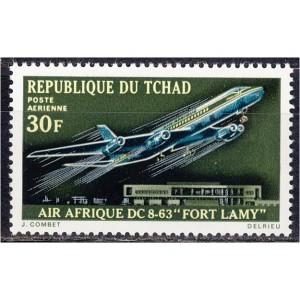 Tchad - lennuk 1970, **