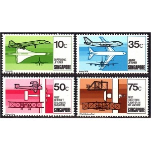 Singapur - lennunduse ajalugu 1978, **