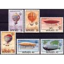 Vanuatu - dirižaablid ja õhupallid 1983, **