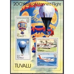 Tuvalu - lennukid ja õhupallid 1983, **