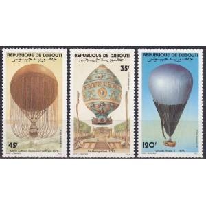 Djibouti - õhupallid 1983, **