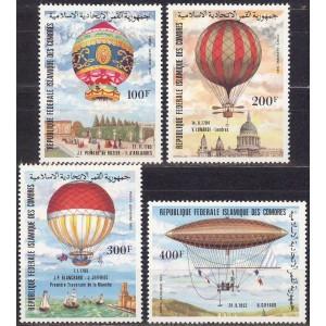 Komoorid - dirižaablid ja õhupallid 1983, **