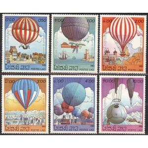 Laos - õhupallid 1983, **