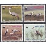 Malawi - linnud WWF 1987, **