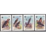 Lesotho - linnud WWF 1986, **
