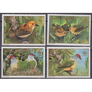 Cook Islands - linnud WWF 1989, **