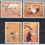 Niger - loomad WWF 1985, **
