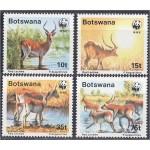 Botswana - loomad WWF 1988, **