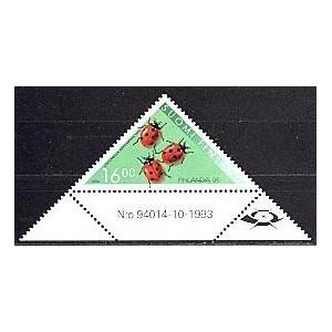 Soome - mardikad (lepatriinud) 1994, MNH