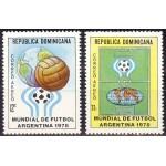 Domonicana - jalgpalli MM, Argentiina 78, **