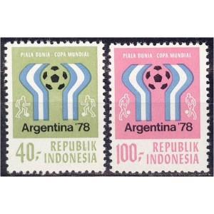 Indoneesia - jalgpalli MM, Argentiina 1978, **