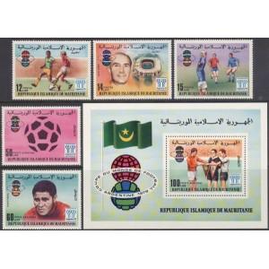 Mauritania - jalgpalli MM, Argentiina 1978, **