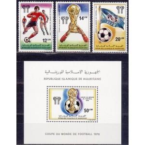 Mauritania - jalgpalli MM, Argentiina 1978, (II) **