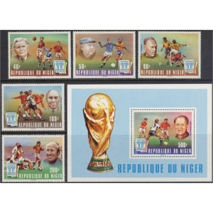 Niger - jalgpalli MM, Argentiina 1978, **